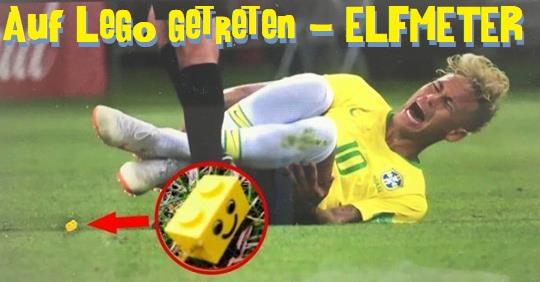 Neymar Verarsche